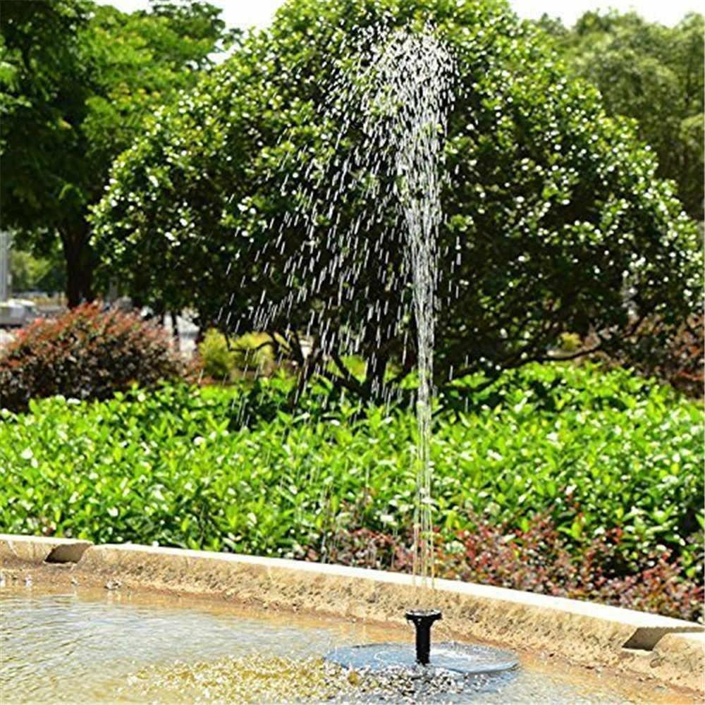 2 шт. садовая Солнечная система орошения фонтан заливка капельного распылителя