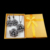 HENSEN Antigo Banhado A Prata Jóias Moda Preto Cristal Grande Declaração Flor Colar Set Conjuntos de Jóias Vintage Para Mulheres