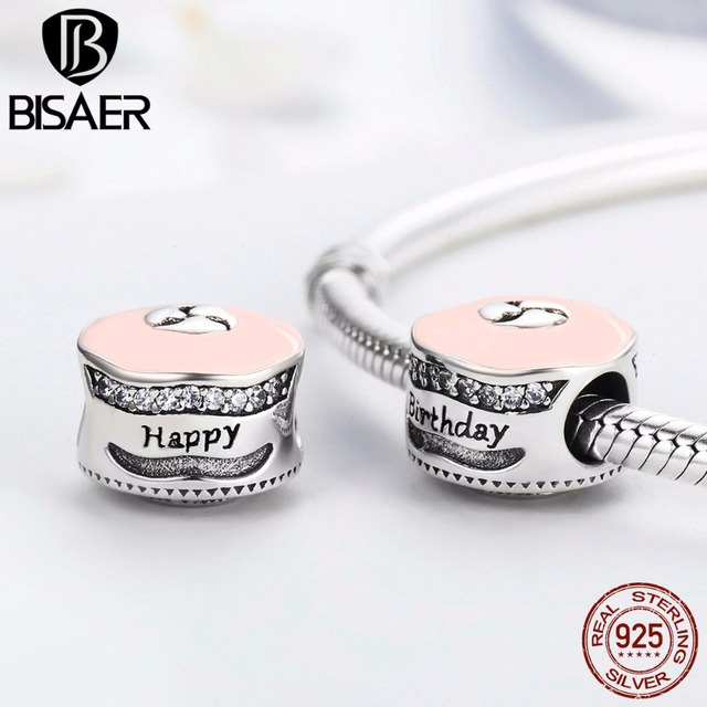 100 925 Sterling Silver Charm Charms Happy Birthday Cake Candles