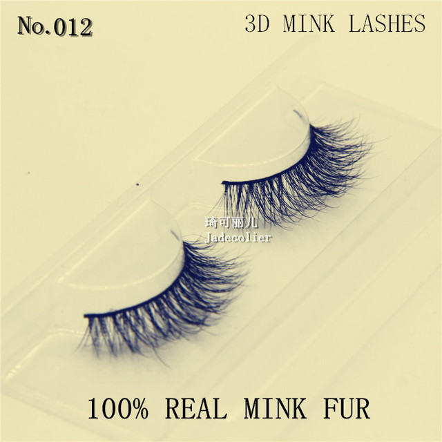 e1e53106ee2 Free shipping 2016 New style hand made crisscross 3D mink eyelash 100% mink  fur thick