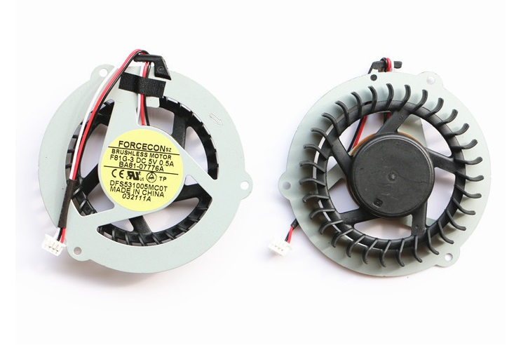 SSEA New CPU Cooling Cooler fan for SAMSUNG R518 R519 R520 R463 R467 R468 R470 R517 R522 R425 laptop P/N DFS531005MC0T