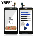 For Lenovo S660 High Quality HighScreen Touch Screen Touch Screen Digitizer Front Glass Sensor Logo + Sticker Free Shipping