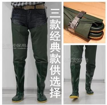High barrel pant boots boots waterproof boots and shoes planted fishing wading shoes for men work