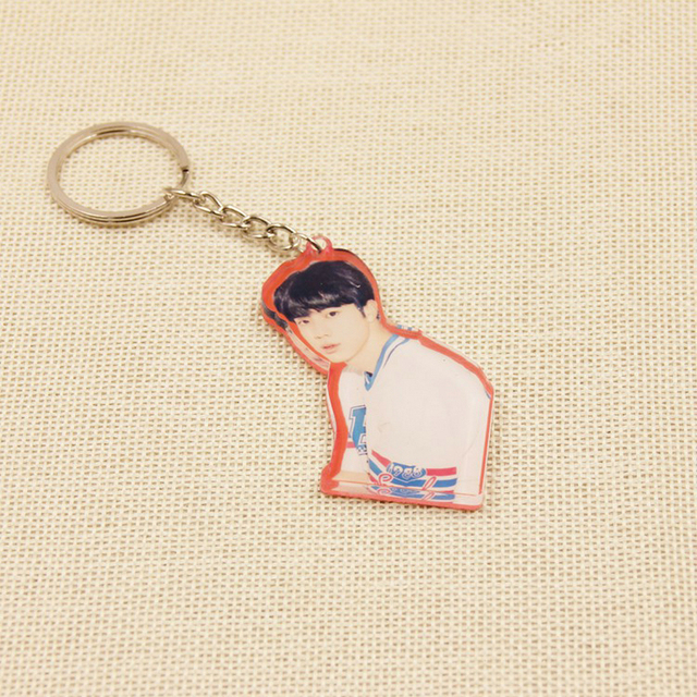 BTS Handsome Keychains