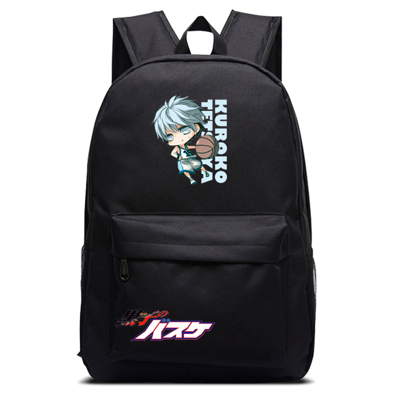 Kuroko No Basket Ball Number Boys And Girls School Bags Book Backpacks Anime Bag Shoulder Bag Students Bagpack Travel Bag Novelty & Special Use Costumes & Accessories