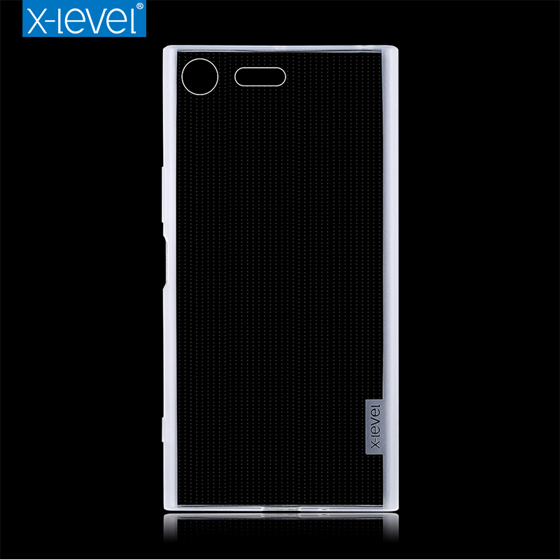 X-Level Cases Premium-Case Sony Xperia Back-Cover Transparent For XZ High-Quality Soft-Silicone