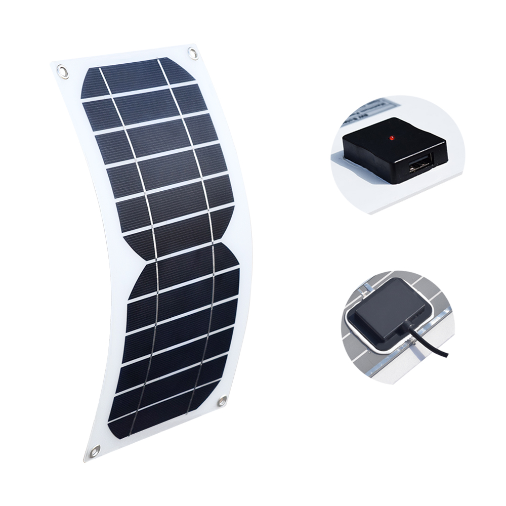 Symbol Of The Brand Portable 7w 5v Folding Waterproof Solar Panel Charger Mobile Power Bank For Phone Battery Outdoor Solar Intelligent Control Chargers