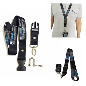 Image 4 - New Hero 8 Camera Neck Lanyard With Release Buckle+WIFI Smart Remote For GoPro Max Go Pro 8 7 Black 6 5 4 Session Accessories