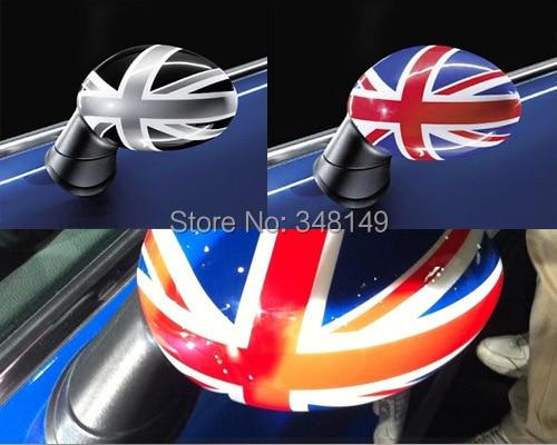 Stickers pasqyre pasqyre super makine Aliauto 2 x të rrethuara - Aksesorë të jashtëm të makinave - Foto 2