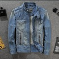 High Quality Brand New Male Vintage Trendy Classic Jean Jackets Retro Slim Fit Zip Cool Man Denim Coats Asian size l xl 2xl 3xl
