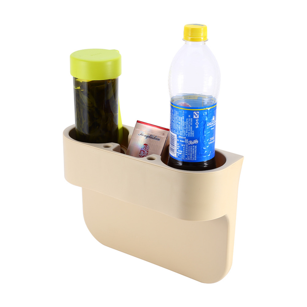 Car Seat Drink Cup Holder Valet Beverage Can Bottle Food Mount Stand Box Organizer Multifunction Vehicle Tool