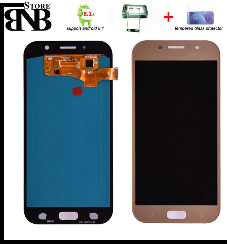 Super Amoled For Samsung Galaxy A7 2017 A720 A720F LCD Display Touch Screen Digitizer Assembly LCD for Galaxy A7 2017 DuosSuper Amoled For Samsung Galaxy A7 2017 A720 A720F LCD Display Touch Screen Digitizer Assembly LCD for Galaxy A7 2017 Duos