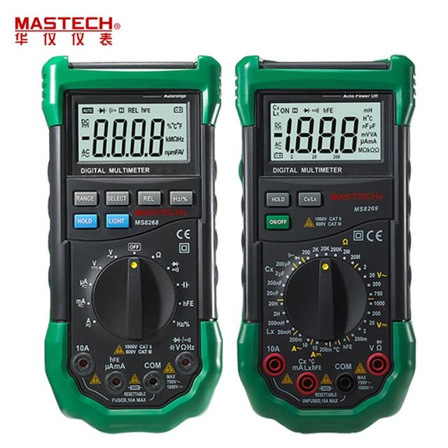 Mastech ms8264 (manual 30-range + temperature) | multimeter reviews.