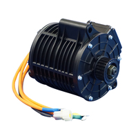QS high turque 3000W 138 70H mid drive motor for electric motorcycle 100kph
