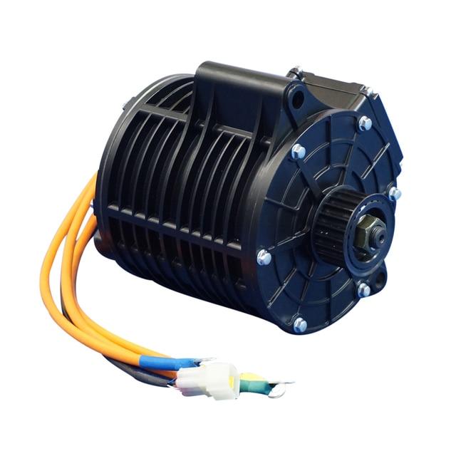 QS גבוהה turque 3000 W 138 70 H אמצע כונן מנוע חשמלי אופנוע 100kph
