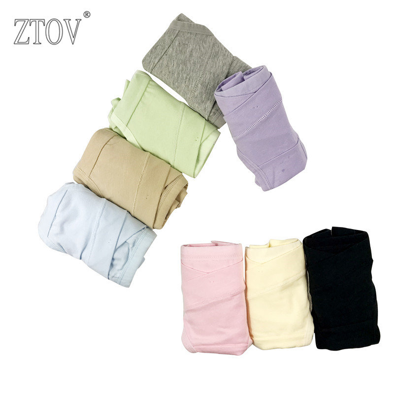 ZTOV Cotton Belly Support Panties for Pregnant Women Maternity Underwear Breathable V-Shaped Low Waist Panty size M L XL XXL 3XL цена