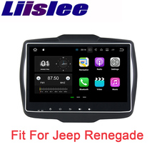 Liislee Car Navigation GPS Android For Jeep Renegade 2016~2017 Audio Video HD Touch Screen Stereo Multimedia Player No CD DVD