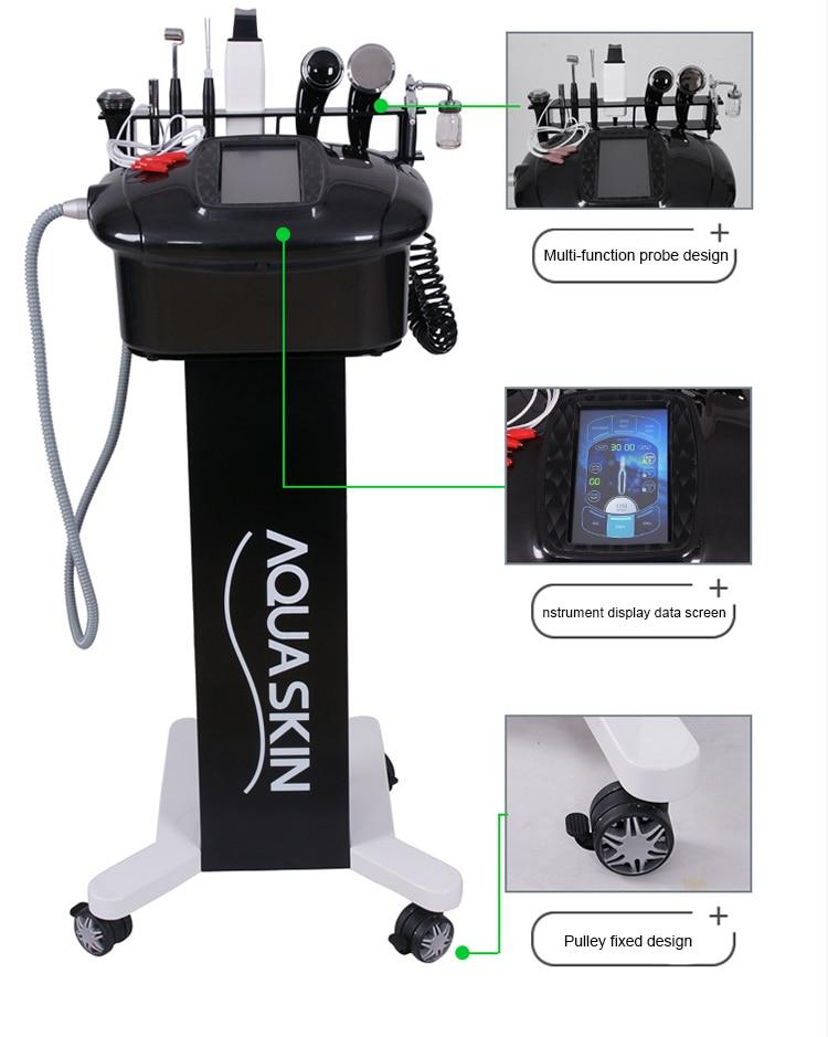 Newest Black Comprehensive Management Instrument For Skin Clean & Facial Massager