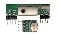 433 Mhz Süperheterodin 3400 RF Verici ve Alıcı Bağlantı Kiti Arduino ARM MCU Için
