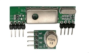 Image 1 - 433 Mhz Superheterodyne 3400 RF משדר & מקלט קישור ערכת לarduino ARM MCU