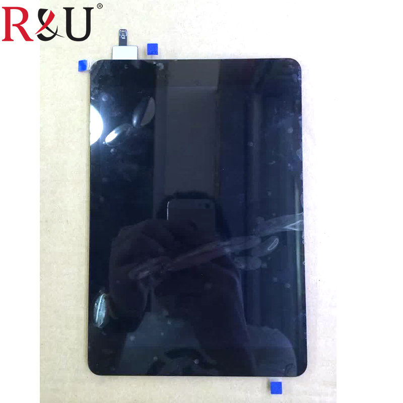 R&U test good 7.9Inch lcd screen display + touch screen panel digitizer assembly replacement part For Nokia N1 N1S free shipping 100% guarantee original replacement lcd display screen with touch digitizer assembly for lenovo a859 tools free shipping