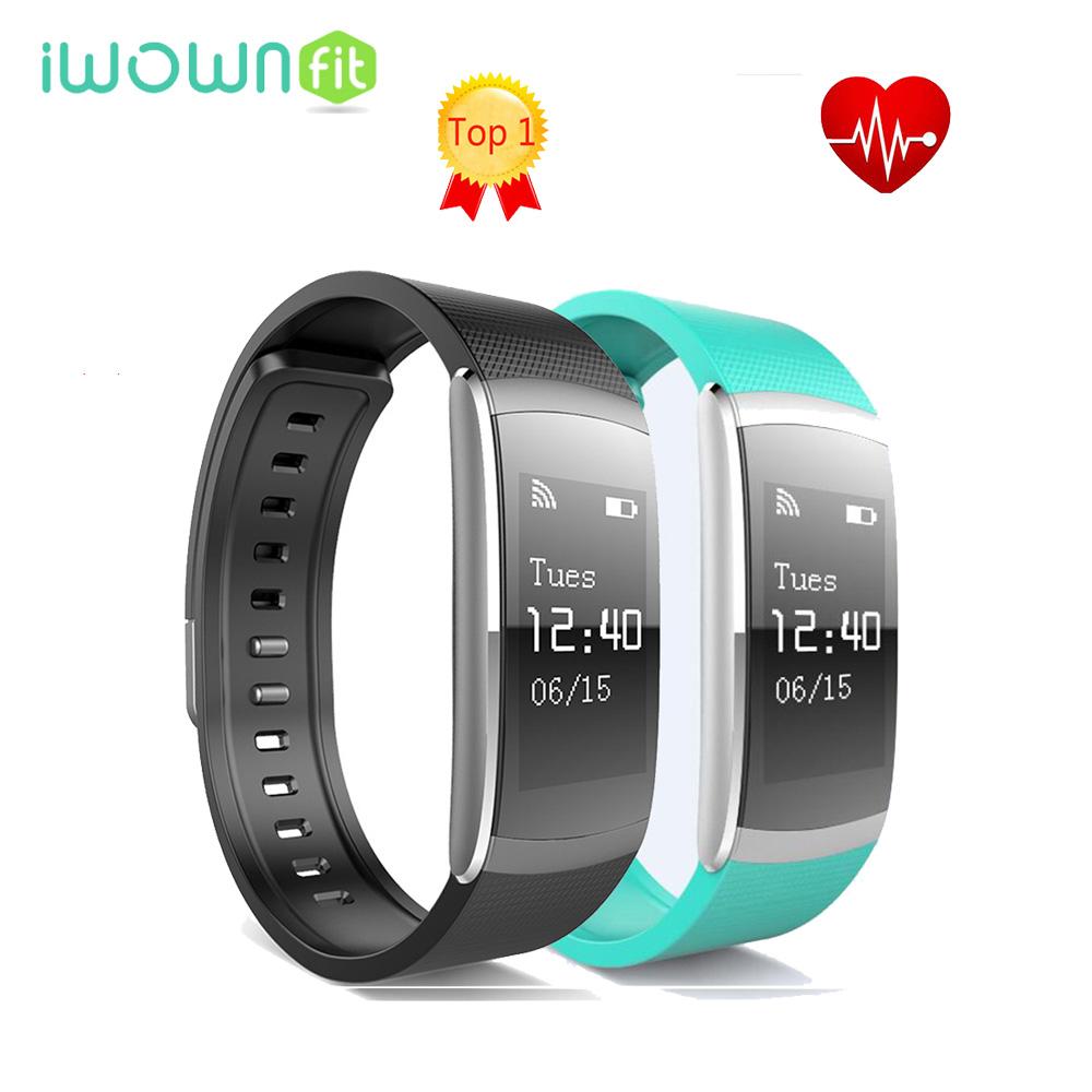 Prix pour Chaude i6 PRO smart band bracelet Moniteur de Fréquence Cardiaque sport Fitness Tracker smartband Soutien Bluetooth Message Appel Rappel