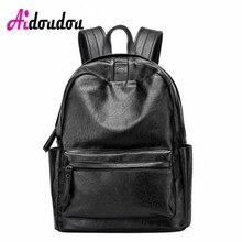 Aidoudou модный бренд bagpacks ноутбука Harajuku рюкзак Японии и корейский стиль SAC DOS Mochilas feminina из овечьей кожи