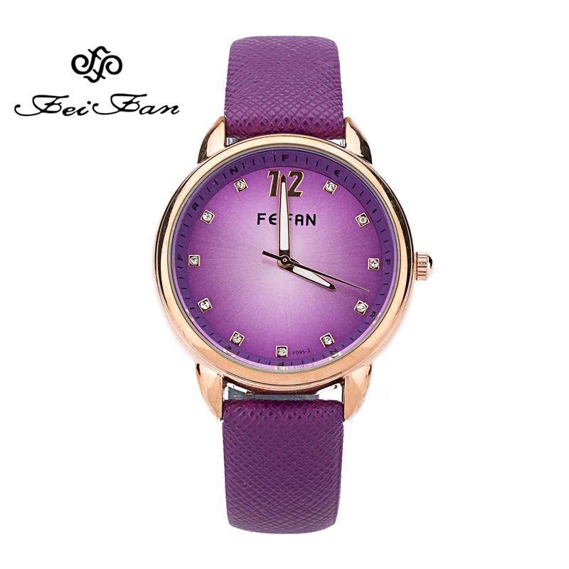 купить FEIFAN 2016 luxury brand women's watch New Fashion Ladies Diamond face quartz watches Women Beauty Dress clock woman gifts недорого