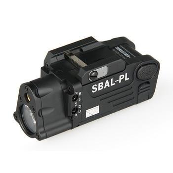 Tactical Laser Flashlight SBAL-PL Hunting Weapon Light Combo Red Laser Pistol Gun Light Picatinny Rail VI3003