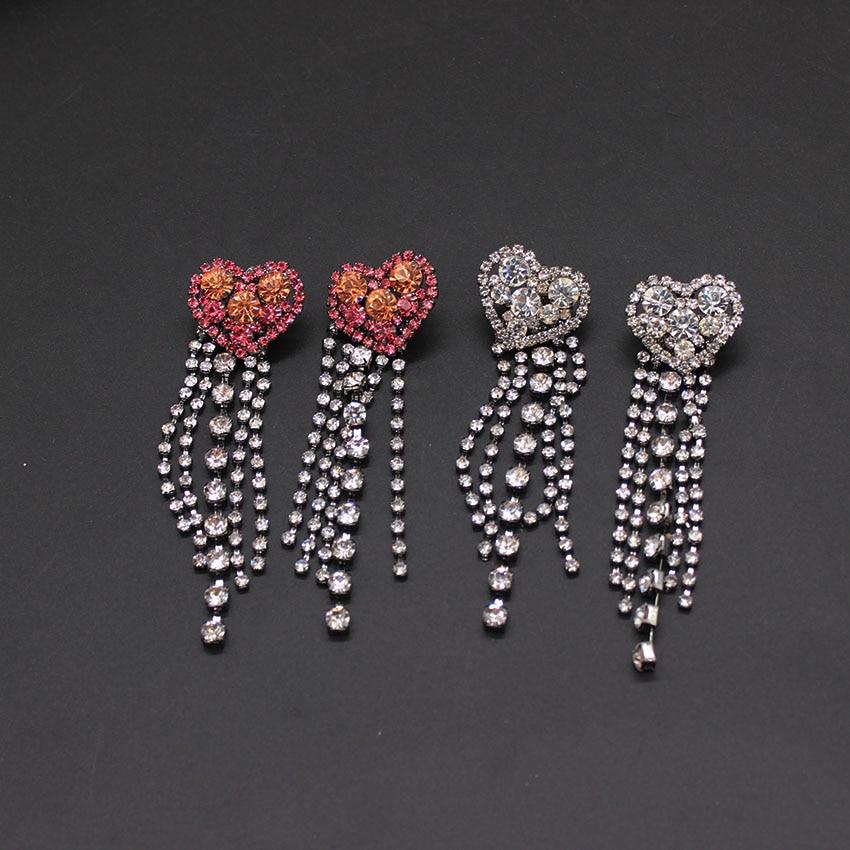 Detail Feedback Questions about Baroque heart stud earrings peach heart stud  earrings versatile simple personality dual use long heart shaped earrings  816 ... 1bd90ad98fc5
