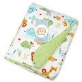 Mantas para bebés de aire acondicionado manta siesta manta de recepción de invierno recién nacido swaddle wrap manta Súper Suave manta cobertor bebe