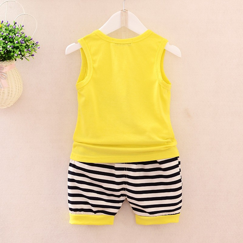 2016-Children-s-Wear-Summer-baby-boys-Clothing-set-Big-Eyes-Vest-shorts-Sports-Suit-kid (2)