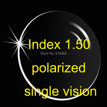 1 56 polarized lens single vision UV400 used in sunglasses to reduce glare from reflective for