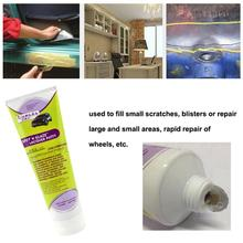 New 1pcs Atomic Ash 3388S Filler Putty Powder 350g For Car Wheels Furniture Indoor Light Scratch Repair