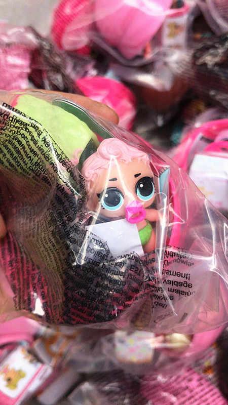 Новинка, 1/2/5/10 компл./лот 4 см милые маленькие сестры Детские куклы шаровой шарнир комплект девочка подарок игрушка для ребенка по случайному выбору кукла с аксессуарами и мяч