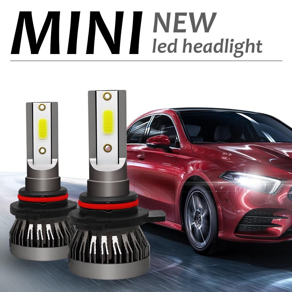 Hospitable 2pcs/set Car Headlight Auto Led 9012 Hir2 Led 6000k Waterproof Car Truck Suv Rv Hid All In One Style Dob Lamp Work Light Car Headlight Bulbs(led)