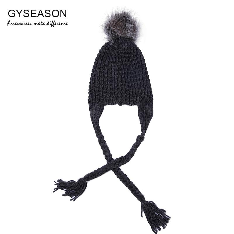 Χειμώνας Καπέλο Γυναίκες Faux Γούνινο - Αξεσουάρ ένδυσης - Φωτογραφία 2