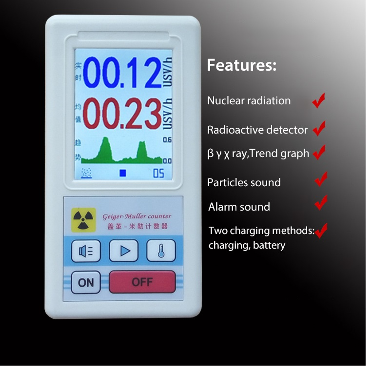 Nuclear Radiation Beta Gamma X ray Ray Detector Dosimeter Electromagnetic Dosimeters Personal