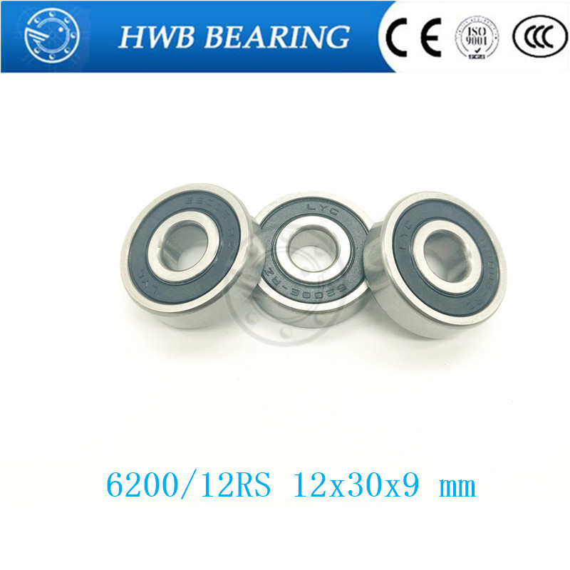 6200/12 2RS 6200/12RS 12309 High Quality Non-standard ball bearing 12*30*9 mm no standard <font><b>6200RS</b></font> 6200 Electric bike 12x30x9 mm image