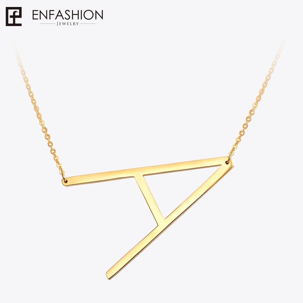 Fashion Letter Necklaces Pendants Alfabes