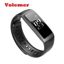 Volemer Bluetooth 4.0 C7S смарт-браслет сердечного ритма кровяное давление монитор Спорт трекер банда inteligente смарт-браслет для Androi