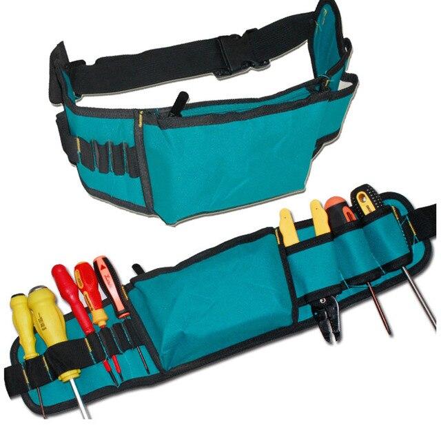 Multi Electricians herramienta cinturones bolsa 600D impermeable Oxford  Herramientas Kit bolsillos y cintura cinturón Herramientas Para 52b76a93d9df