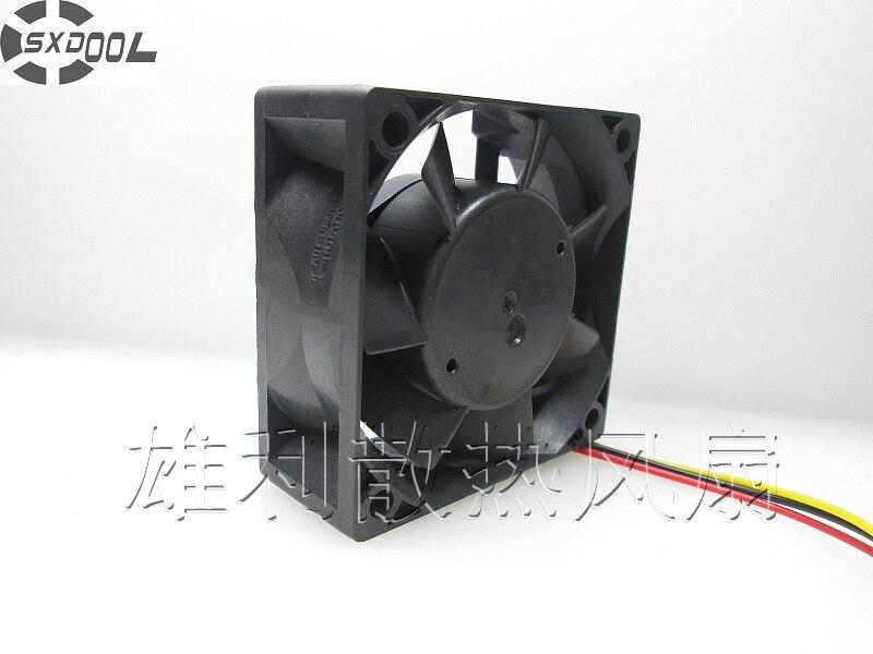 SXDOOL CA1638H01 MMF-06F24ES RP1 6025 60mm 6cm DC24V 0.10A server inverter cooling fan sxdool mds c1 v1 fan nc5332h44 mmf 09d24ts rn9 dc 24v 0 19a server inverter cooling fan