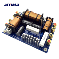 Aiyima 1PC Professional Audio Speaker 3 Way Frequency Divider 1000 1200W PA 25T 3 Unit Crossover