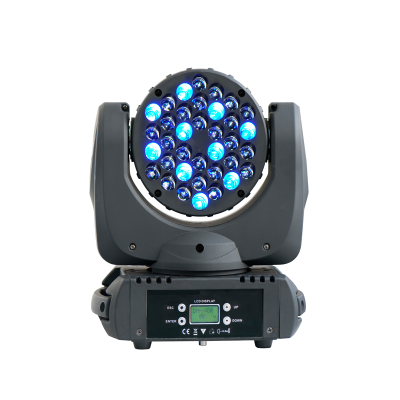 BIG DISCOUNT 36*3W RGBW 4in1 LED Moving Head Beam Light DJ Stage Lighting For Party Club Event