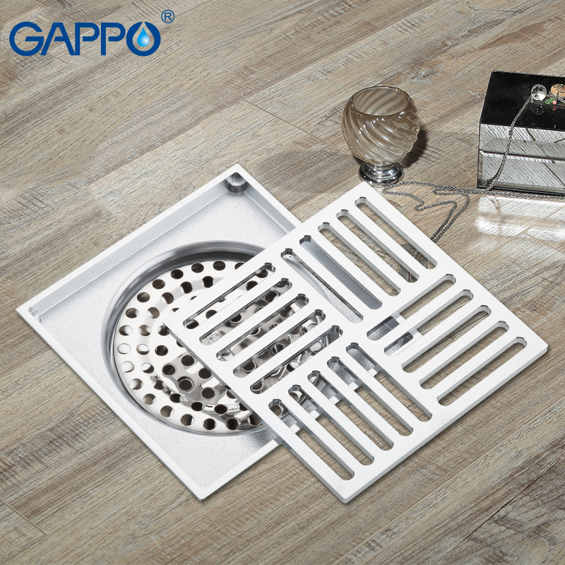 GAPPO Drains Anti odor shower drain strainer bathroom ...