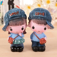 Fashion Cap Lovers Resin Decoration Holiday Gifts Child Gift