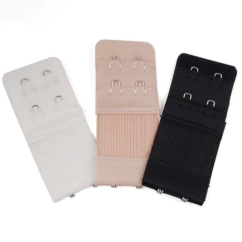 2 rows 2 hooks bra extenders nylon clasp strap women bra strap extender 3 colors 1 pcs in bra for Html table th 2 rows