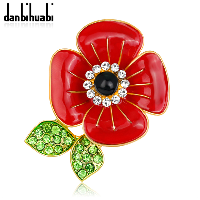 12 pcslot free cheap wholesale lot very beautiful lred poppy 12 pcslot free cheap wholesale lot very beautiful lred poppy flower brooch mightylinksfo