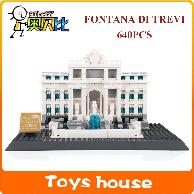 2016 New Architecture Creator Series 3d Model Building Blocks Set Classic House Toys China